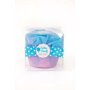 Feeling Smitten Cotton Candy Cupcake Soap