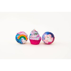 Feeling Smitten Bath Bomb - Magic Trio Cupcakes