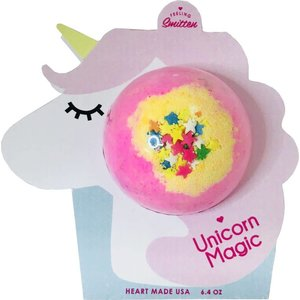 Feeling Smitten Bath Bomb - Unicorn Magic