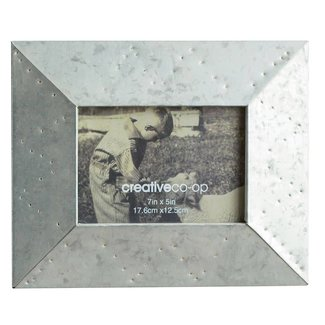 "Metal Photo Frame 5"" x 7"""