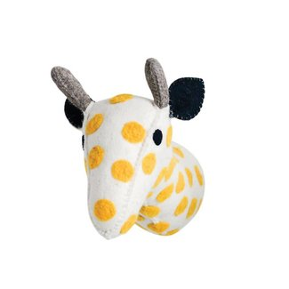 Wool Felt Giraffe Head