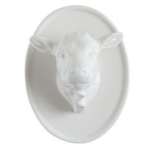Stoneware Animal Head