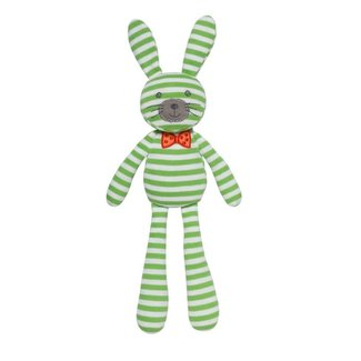 Apple Park Spring Bunny Green Stripe