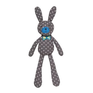 Apple Park Spring Bunny Gray Polka Dot