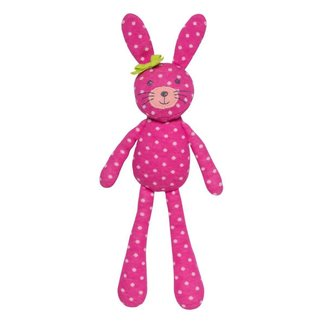 Apple Park Spring Bunny Pink Polka Dot