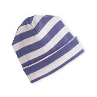 Tesa Babe Blue Stripe Beanie 0-3 Months