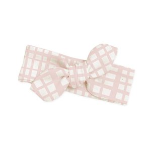 Tesa Babe Pink Plaid Headband - One Size
