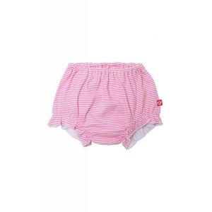 Zutano Candy Stripe Bloomers - Hot Pink