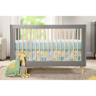 Million Dollar Baby Lolly 3-in-1 Crib Grey/Washed Natural