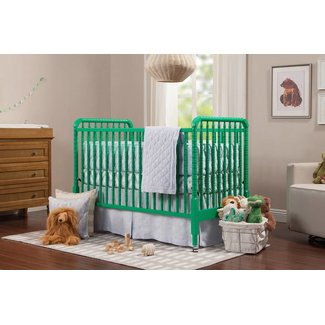 Million Dollar Baby Jenny Lind 3-in-1 Crib - Emerald
