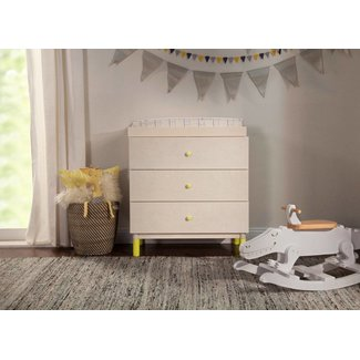 Million Dollar Baby Gelato 3-Drawer Changer Dresser Washed Natural