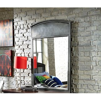 Hillsdale Furniture Urban Quarters Metal Mirror