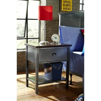 Hillsdale Furniture Urban Quarters Metal Nightstand