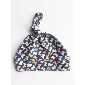 Macie and me Knotted Hat NB - Butterfly