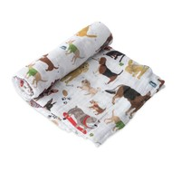 Little Unicorn Cotton Muslin Swaddle - Woof
