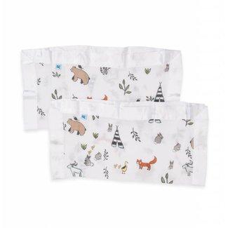 Little Unicorn Cotton Muslin Security Blanket - Forest Friends