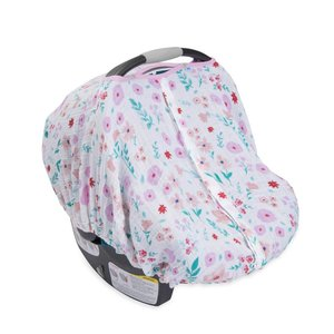 Little Unicorn Cotton Muslin Car Seat Canopy - Morning Glory
