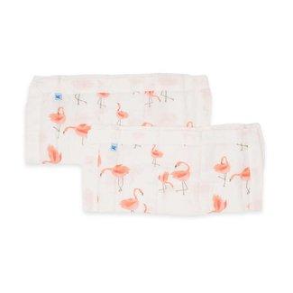 Little Unicorn Cotton Muslin Security Blanket - Pink Ladies
