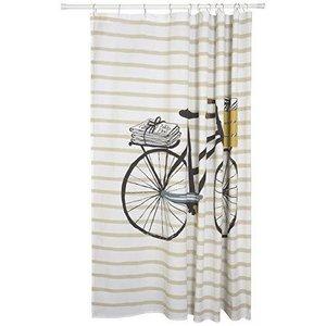 Shower Curtain Bicicletta