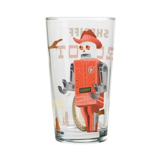 Cubic Roboutique Mixer Glass - Sheriff Robot