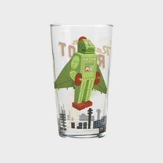 Cubic Roboutique Mixer Glass - Raptor Bot