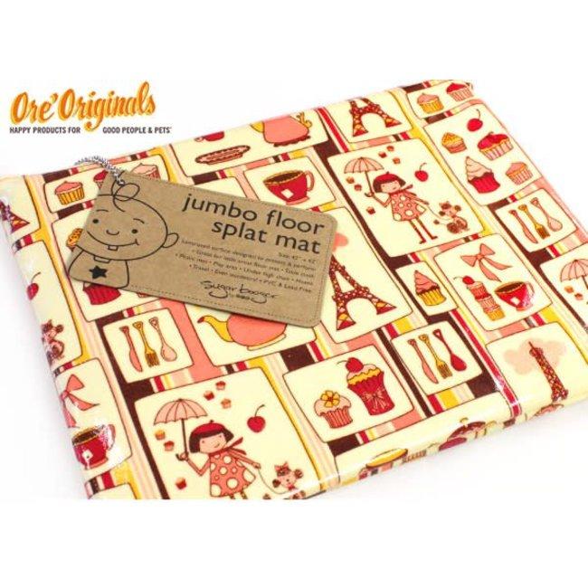 Ore Originals Jumbo Floor Splat Mat Cupcake