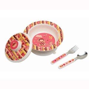 Ore Originals Suction Bowl Set Cupcake