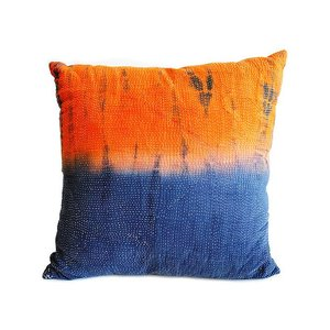 Modelli Creations Blue Tie-DyeThrow Pillow