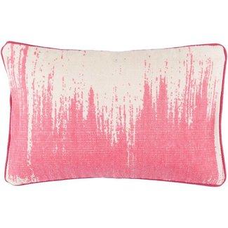 Bristle Pillow Hot Pink