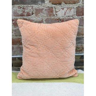 Velvet Quilted Pillow 16