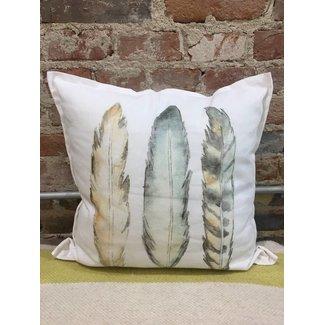 Twelve Timbers Small Pillow Printed Art