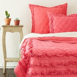 Chelsea Quilt - Hot Pink Twin