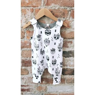 LuLu & Gunner Woodland Animal Overall