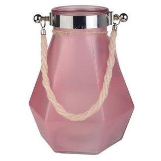 Pink Scotia Lantern