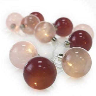 Light Bulb Garland 5ft Pink