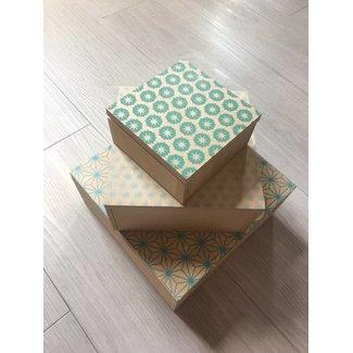 Set of 3 Cassandra Boxes