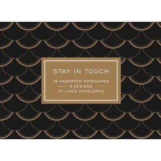 Modern Gold Greeting Notecards