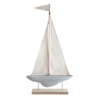 Cement Boat with Stand