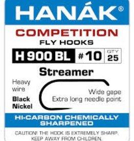 HANAK HANAK H900BL BARBLESS STREAMER HOOK - 25 PACK