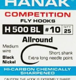 Hanak Competition HANAK H500BL ALL-ROUND BARBLESS HOOK - 25 PACK