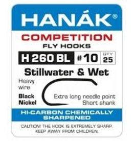 Hanak Competition HANAK H260BL - SHORT SHANK WET/NYMPH - 25 PACK