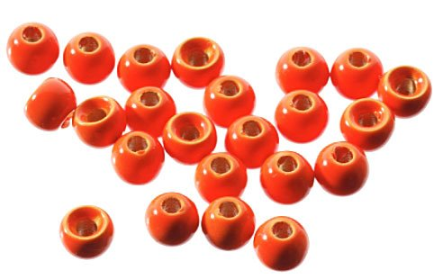 FLUORESCENT TUNGSTEN BEADS - 50 PACK