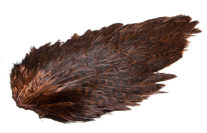 HARELINE INDIA HEN BACK - PRINCE NYMPH BROWN