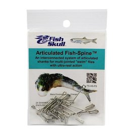 HARELINE FISH SKULL ARTICULATED FISH SPINES