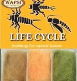 WAPSI LIFE CYCLE DUBBING - CADDIS