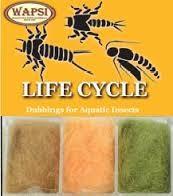 WAPSI LIFE CYCLE DUBBING - CADDIS