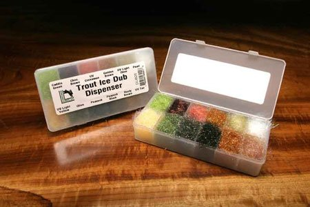 HARELINE ICE DUB DISPENSER - TROUT