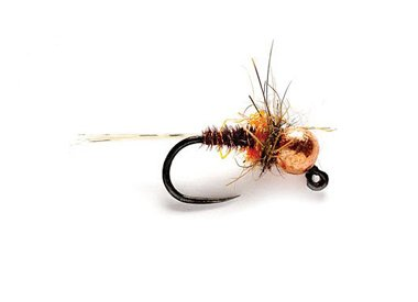 PHEASANT TAIL HOT SPOT JIG NYMPH - TUNGSTEN