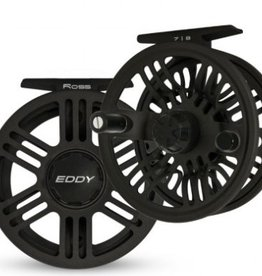 ROSS REELS ROSS EDDY FLY REEL - #7/8 BLACK - 30% OFF