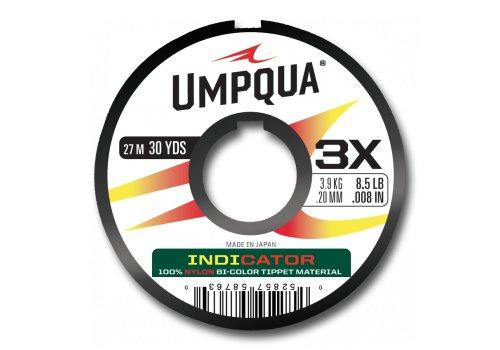UMPQUA UMPQUA INDICATOR TIPPET - RED/YELLOW